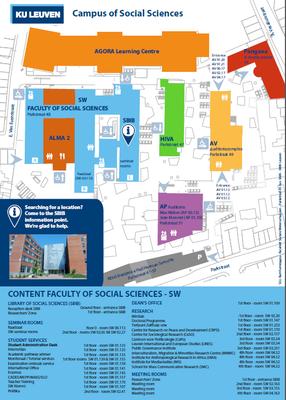 ku leuven campus map Campus Location Leuven Faculty Of Social Sciences ku leuven campus map